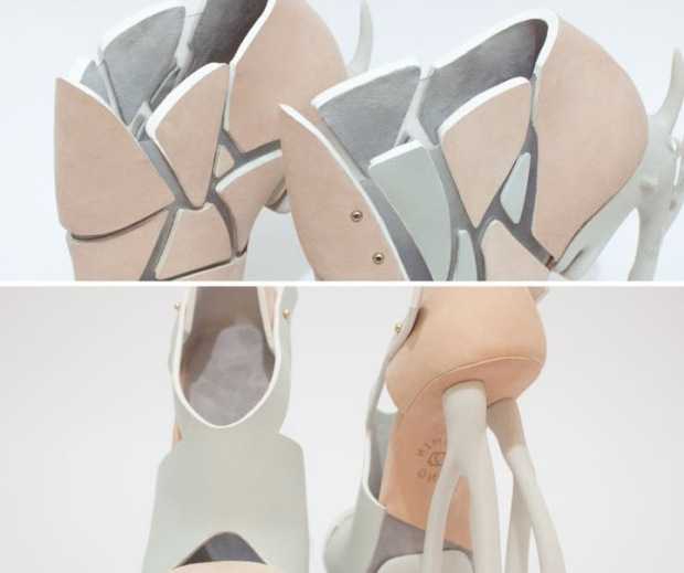 Chaemin-Hong-Bone-Inspired-3D-Printed-Shoes-High-Heels-Pumps-2